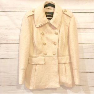 NWOT Guess Wool Blend Double Breasted Coat